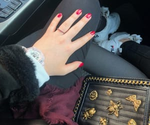alternative, nails, and rednails image