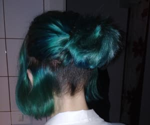 blue, dyed, and grunge image