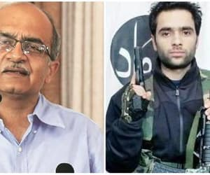 terrorism, parshant bhushan, and aap image