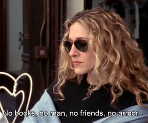 Carrie Bradshaw, character, and quote image