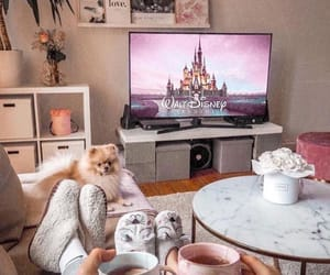 disney, couple, and home image