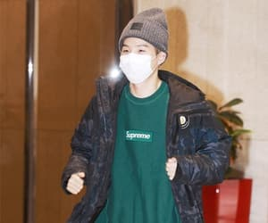 airport, bts, and min yoongi image