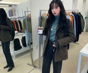 asian fashion, asian girls, and clothes image