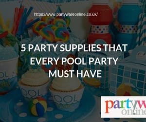 party supplies, partyware online, and pool party essentials image