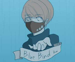 blue, boy, and anime boy image