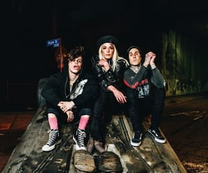 halsey, yungblud, and travis barker image