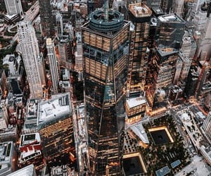 aerial photography, aesthetics, and downtown image