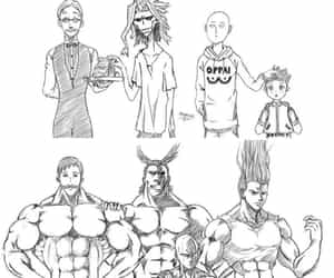 anime, crossover, and one punch image