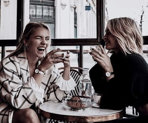 bff, coffee, and friends image