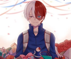 anime, boku no hero academia, and shouto image