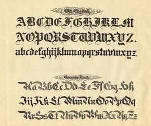letras and caligrafía image