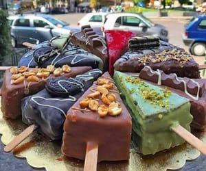 ice cream, food, and cake image