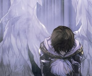 angel, boy, and anime image