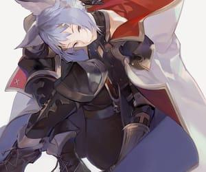 anime, granblue fantasy, and blue image