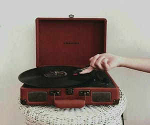 red and music image
