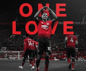 manchester, one love, and marcus rashford image