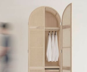 closet, minimal, and Nude image