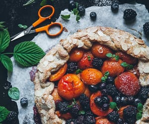 fruit pie, from the kitchen, and lovely with mint image