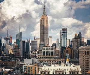 america, architecture, and big apple image