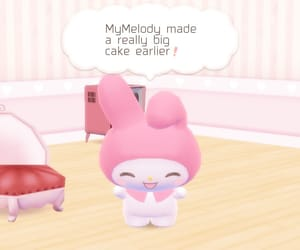 my melody, sanrio, and mymelody image