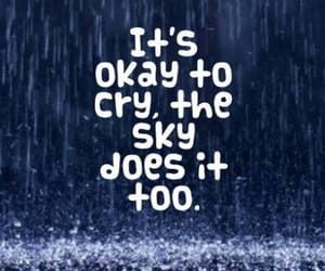 cry, sky, and life image