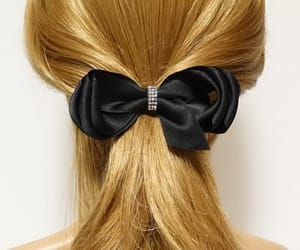 etsy, handmadeaccessory, and hair bow barrette image