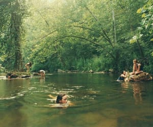 summer, nature, and friends image