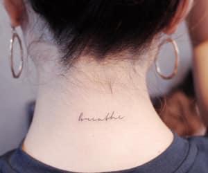 breathe, tattoo, and minimal image