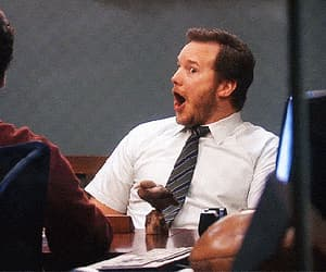 actor, shocked, and gif image