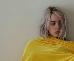 billie eilish and yellow image