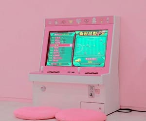 pink, game, and aesthetic image