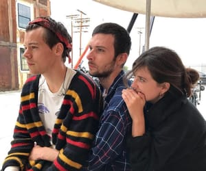 backstage, tour, and Harry Styles image