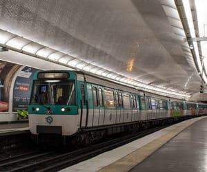 france, metro, and paris image
