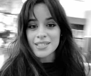 black and white, camila cabello, and baby c image