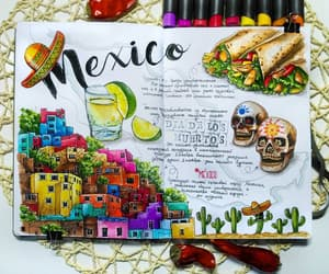 draw, travel, and méxico image