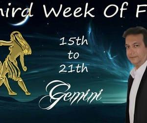 astrology, horoscope, and gemini image