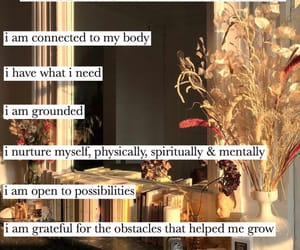 affirmation, chakra, and growth image
