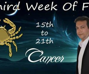 astrology, cancer, and horoscope image