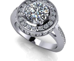 diamond ring, wedding ring, and custom jewelry image