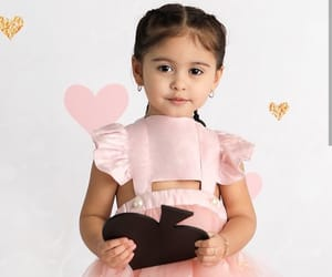 baby, beautiful, and dress image
