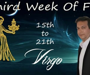 astrology, horoscope, and virgo image