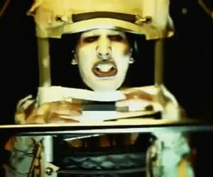 beautiful people, gif, and Marilyn Manson image
