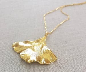 etsy, gold, and pendant necklace image