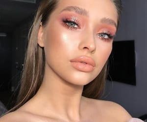 makeup and face image