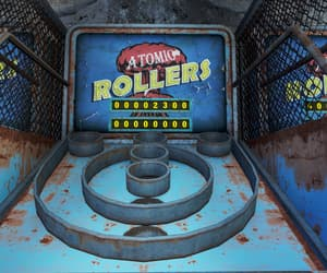 arcade, fallout, and rusted image