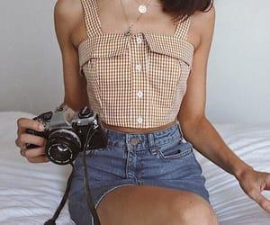 camera, girls, and fashion image