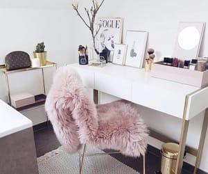 home, pink, and makeup image