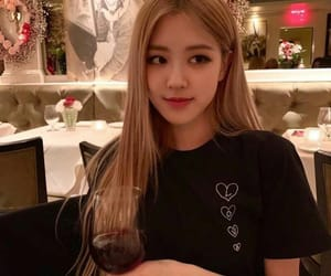 kpop, roseanne park, and rose image