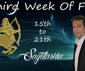 astrology, horoscope, and Sagittarius image