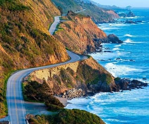 mountains, ocean, and monterey california image